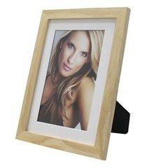 porta retrato com paspatur insta 15x21cm natural