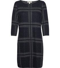 dresses knitted knälång klänning grå esprit casual