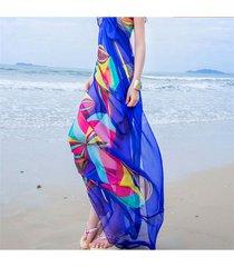 sciarpe scialle di scialle della protezione solare dell'asciugamano del tovagliolo della spiaggia di estate della signora lady beach