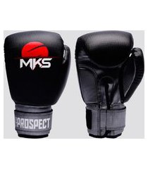 luva de boxe e muay thai mks prospect preta