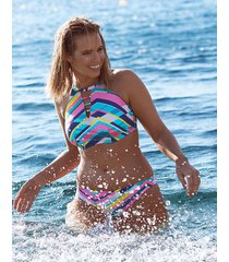 bondi beach underwire high neck bikini top b-dd cup