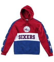 mitchell & ness philadelphia 76ers men's leading scorer fleece hoodie