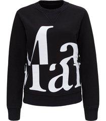 maison margiela sweatshirt with logo