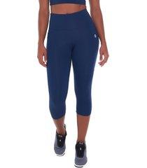 calça corsário sandy fitness athletic bluish