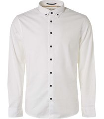 no excess shirt long sleeve stretch white