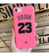 cute rose shockproof 23 jordan protective hard case for iphone 7 plus