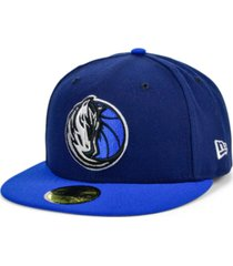 new era dallas mavericks basic 2-tone 59fifty cap