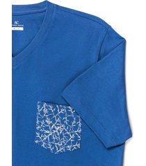 camiseta manga corta diseño floral regular fit para hombre 92524