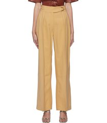 'ottolie' belted wide leg pants