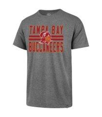 '47 brand men's tampa bay buccaneers blockstripe super rival t-shirt