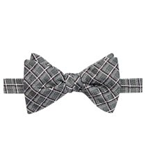 jos. a. bank plaid pre-tied formal bow tie clearance
