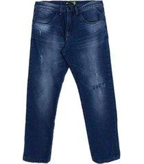 calça jeans hd plus size regular confort fit masculino - masculino