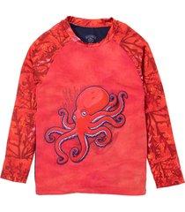 camiseta de playa rojo offcorss