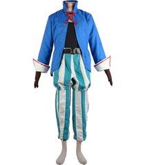 final fantasy ix vivi orunitia cosplay costume men halloween carnival outfit