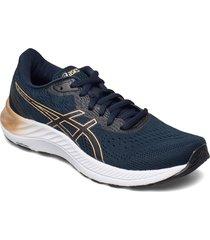 gel-excite 8 shoes sport shoes running shoes blå asics