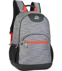 mochila gris reef 18 porta notebook