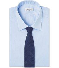 cravatta su misura, lanificio zignone, lana seta lino, primavera estate | lanieri