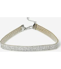 *rhinestone anklet - clear