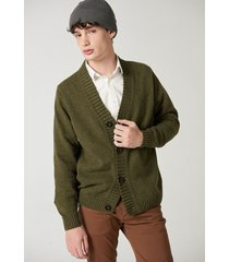 cardigan verde prototype wool