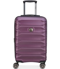"""delsey meteor 21"""" hardside expandable carry-on spinner suitcase, created for macy's"""