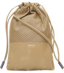 bolsa pochete feminina mini sack - bege