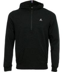 sweater le coq sportif tech hoody 1/2 zip n°1