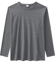 camiseta tradicional em meia malha wee! cinza escuro - g