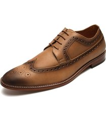 zapatos miel la corola oxford
