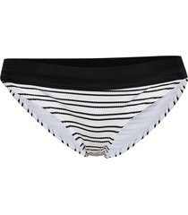sport stripe high rise briefs bikinitrosa svart french connection