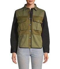 timber cargo shirt jacket