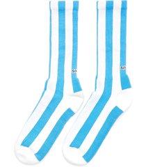 'diego' stripe rib cuff tennis socks