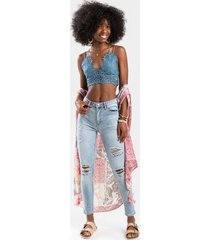 hamilton distressed skinny jeans - lite