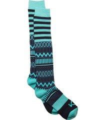 åkle sock lingerie socks knee high socks blå kari traa