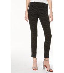 inc jacquard dot slim pants, created for macy's