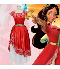 anime elena of avalor elena princess dress halloween women fancy costume cosplay