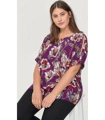 blus mflock bow s/s blouse