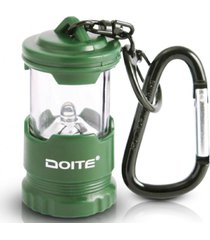 linterna llavero mini camper 3.5 lumens verde doite
