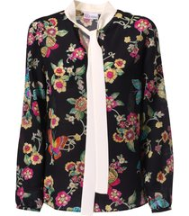 red valentino floral printed shirt