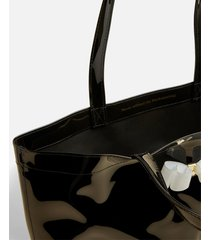 ted baker women's hanacon bow large icon tote bag - black