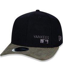 boné new era 950 stretch snap new york yankees preto