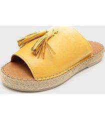 sandalia lock amarillo rockford