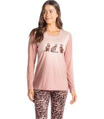 pijama legging animal print meg