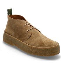 org.132 smq desert boots snörskor brun the original playboy