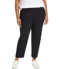 plus size women's vince front seam leggings, size 3x-large - blue