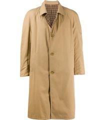 a.n.g.e.l.o. vintage cult 1990s reversible coat - neutrals