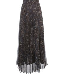 parosh long chiffon skirt fantasy