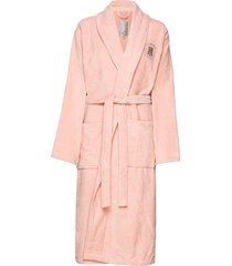 hotel velour robe morgonrock rosa lexington home