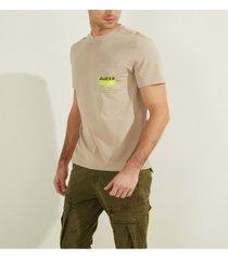 men's pocket logo graphic tee