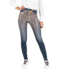 medium dark rhinestone jeans