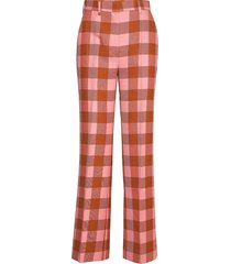 2nd brooke grunge pantalon met rechte pijpen rood 2ndday